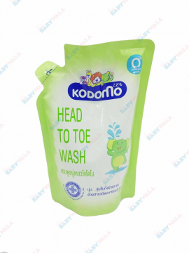 Dầu tắm gội Kodomo Head to toe wash 380ml
