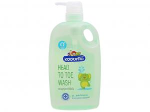 Dầu tắm gội Kodomo Head to toe wash 800ml