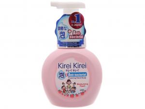 Bọt rửa tay Kirei Kirei hương đào 250ml