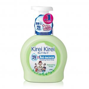 Bọt rửa tay Kirei Kirei hương nho 450ml