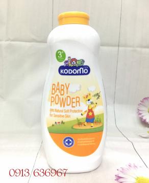 Phấn rôm Kodomo Natural Soft Protection 400g (dưỡng ẩm và ngăn côn trùng)