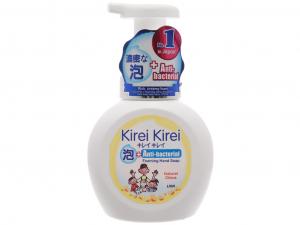 Bọt rửa tay Kirei Kirei hương chanh 250ml