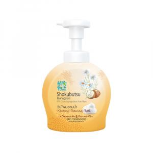 Bọt tắm Shokubutsu Chamomile & Coconut Oil 450ml