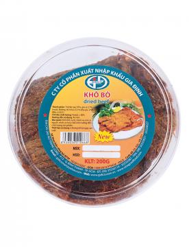 Khô bò miếng Gidico 200g (loại đặc biệt)
