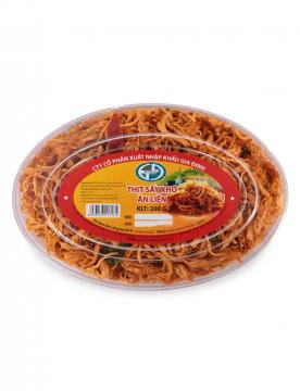 Thịt sấy khô ăn liền Gidico 200gram