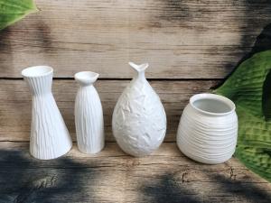 Bình hoa gốm sứ Bát Tràng (size trung)