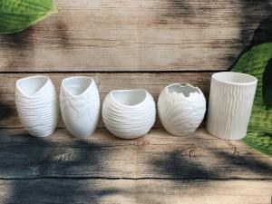 Bình hoa gốm sứ Bát Tràng (size nhỏ)