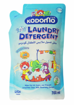 Nước giặt quần áo trẻ em Kodomo Anti Malodo (túi 700ml) 3+