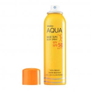 Xịt chống nắng Mistine Aqua SPF50 100ml