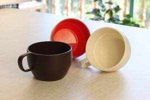 Cốc súp nhựa Nhật Bản Inomata 350ml
