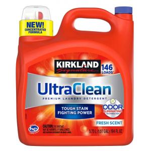 Nước giặt siêu sạch Kirkland Ultra Clean 5.73L