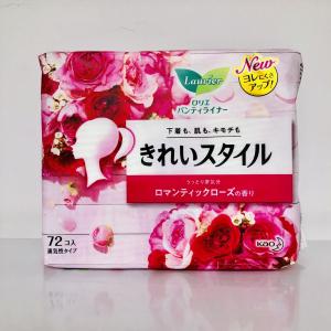 Băng vệ sinh hằng ngày 72 miếng Laurier Nhật Bản (hương hoa hồng)