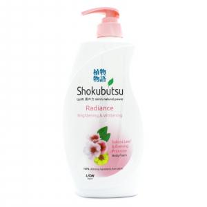 Sữa tắm Shokubutsu Radiance Sakura leaf & evening Primsore 500ml
