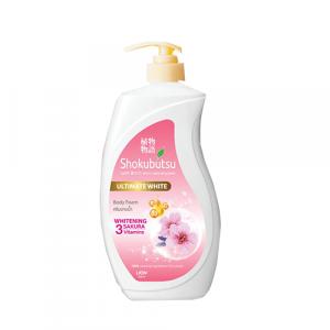 Sữa tắm Shokubutsu Ultimate Whitening Sakura 500ml