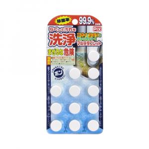 Viên tẩy rửa toilet Lion Chemical Pix Nhật Bản 12 viên