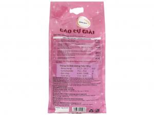 Gạo Home rice ST24 Cự Giải (túi 5kg)